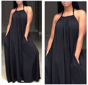 Black Halter Maxi Dress for Sale in Forest Heights, MD