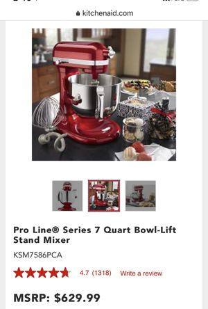 Kitchen aid KitchenAid Mixer Pro Professional Line Candy Apple Red for Sale in Brea, CA