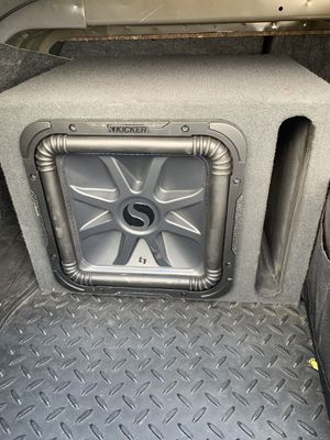"12"" kicker L7 and JL Audio amp for Sale in Pittsburg, KS"