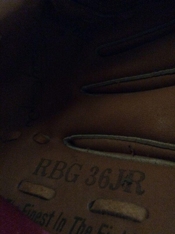 Rawlings RBG 36 JR. leather youth baseball glove