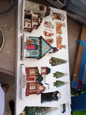 Holiday porclelin set for Sale in Montebello, CA