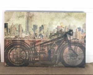 2 Canvas motorcycle pictures for Sale in Santa Maria, CA