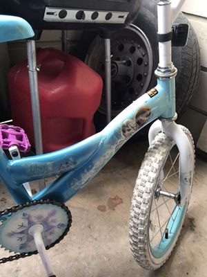 Frozen girls bicycle for Sale in Euless, TX