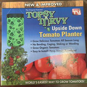 Toppsy Turvey Upside Down Tomato Planter for Sale in Springfield, VA
