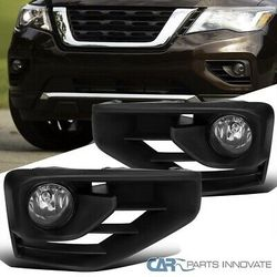 17-20 Nissan Pathfinder Clear Fog Lights Driving Bumper Lamps Pair+Switch for Sale in Whittier,  CA