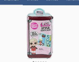 LOL SURPRISE (Style Suitcase) Doll included for Sale in Grand Prairie, TX