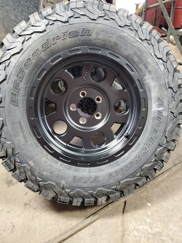 Brand new offroad wheels