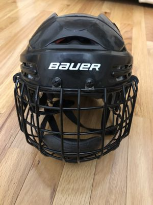 Bauer Hockey Helmet with FM2500 XS Cage Mask for Sale in Aurora, IL