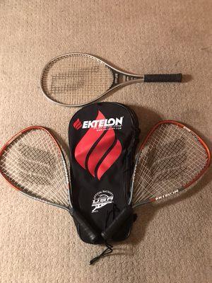Racket ball/ tennis ball Rackets + case for Sale in Phoenix, AZ