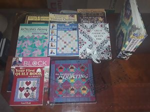 Assorted quilting books and rulers for Sale in Boulder City, NV