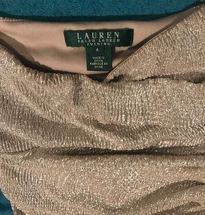 Beautiful dress (wedding or night) Ralph Lauren size4 for Sale in Phoenix, AZ