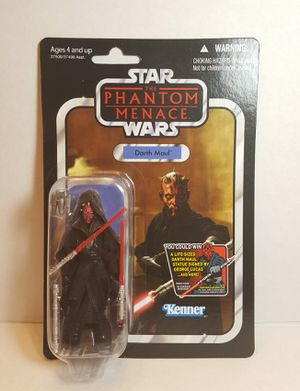 Star Wars The Phantom Menace Darth Maul Vintage Collection for Sale in Dallas, TX