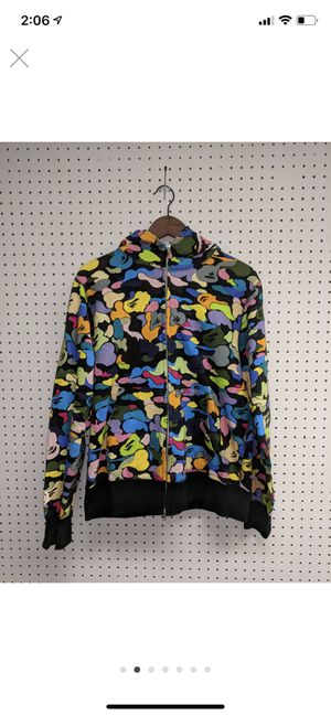 Bape Multi Camo Shark Full Zip Hoodie for Sale in Chicago, IL