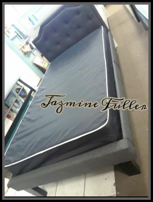 Twin size bed frame with mattress for Sale in Glendale, AZ