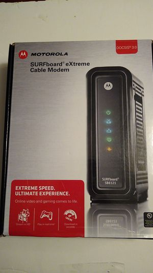 Sb6121 cable modem for Sale in Belmont, NC