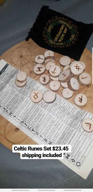 Celtic Wodden Runes for Sale in Cutler Bay, FL