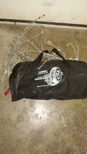 Cobra cable chains for Sale in Austin, TX