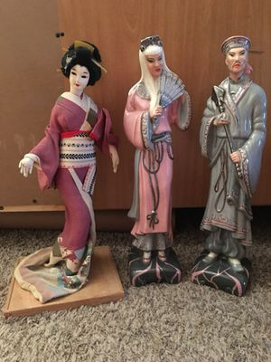 Nishi Doll and glass figurines for Sale in Austin, TX