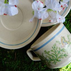 Lennox Tempraware Mugs and Saucers 16 pc set for Sale in Virginia Beach,  VA