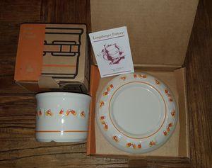 Candy Corn Pottery - Longaberger for Sale in Auburn, WA