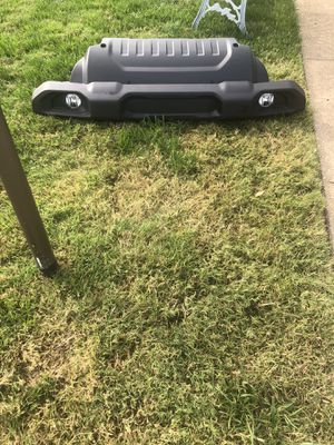 2019 Jeep Wrangler front bumper with fog lights. for Sale in Virginia Beach, VA
