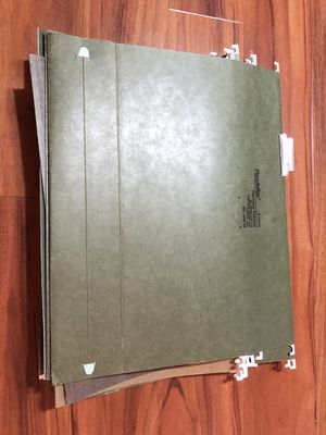 Legal size file folders for Sale in Wichita, KS