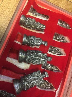 Chess set made in Japan for Sale in Haines City, FL