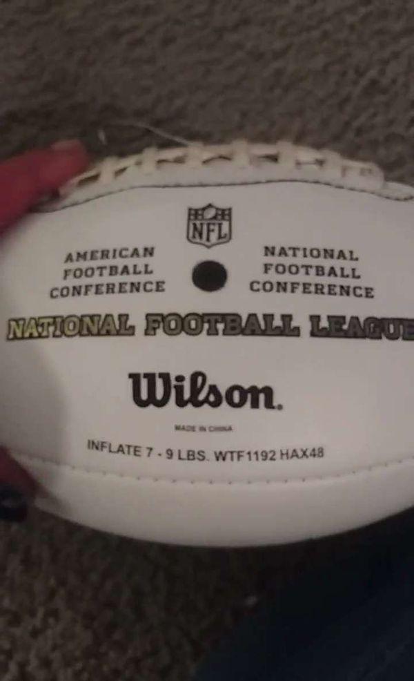 NFL Signed Football