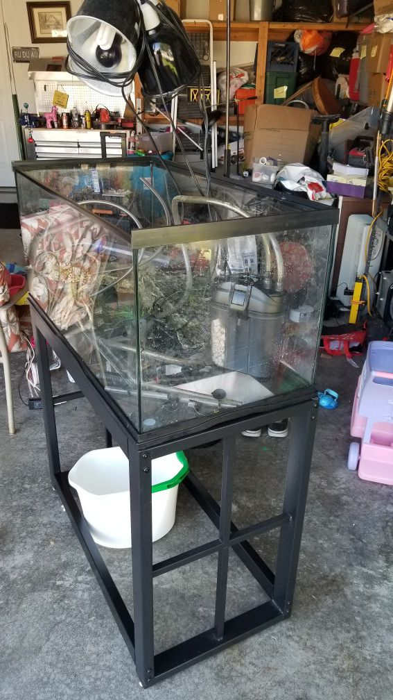 Turtle habitat/ Aquarium 45 gallons