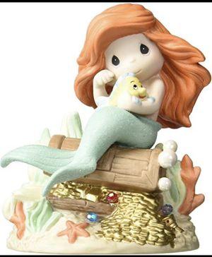Disney Ariel Treasure Box Flounder Precious Moments ( The Little Mermaid ) Disney Showcase for Sale in Miami, FL