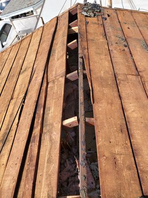 Free wood. From old roof sheathing. for Sale in Rosemead, CA