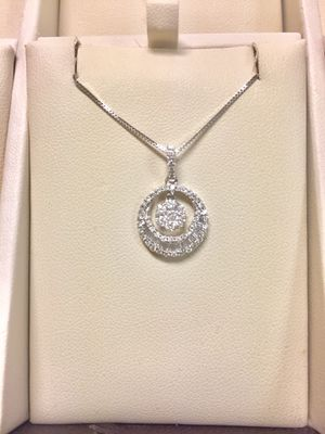 Diamond Pendant in 14kt White Gold for Sale in Annandale, VA