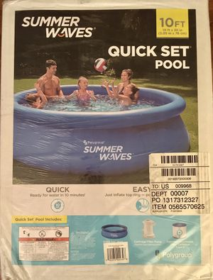 *NEW* 10ft Quick Set Pool for Sale in Washington, DC
