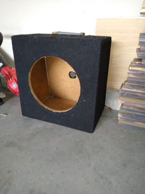 "12"" sub box for Sale in Wichita, KS"