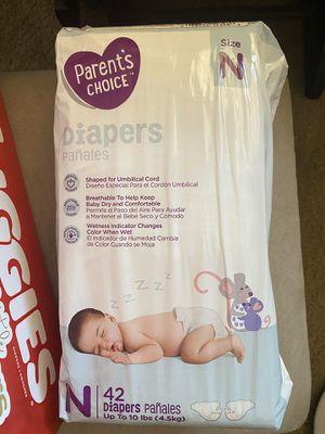 Parents choice diapers for Sale in Phoenix, AZ