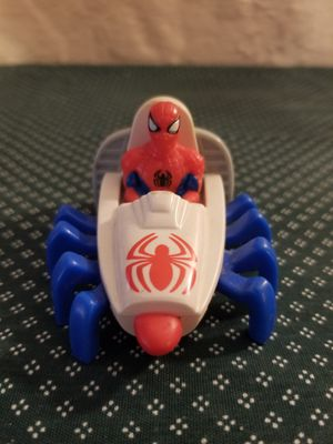 "1995 Vintage Spiderman Crawler Toy Car 5"" McDonalds Action Figure Car Marvel Spiderman for Sale in St. Louis, MO"