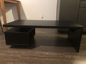 "Dark Sturdy TV table fits 50"" TVs for Sale in Nashville, TN"