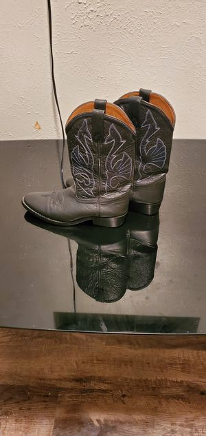 black cow girl boots. for Sale in Fort Worth, TX