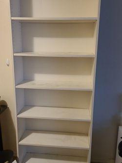 """Ikea Book Shelf Bookcase, white 31 1/2x11x79 1/2 """" for Sale in Seattle,  WA"""