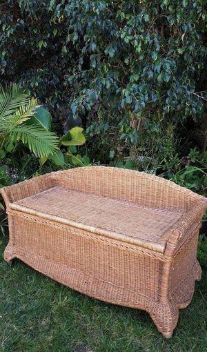Wicker Storage Bench for Sale in San Diego, CA