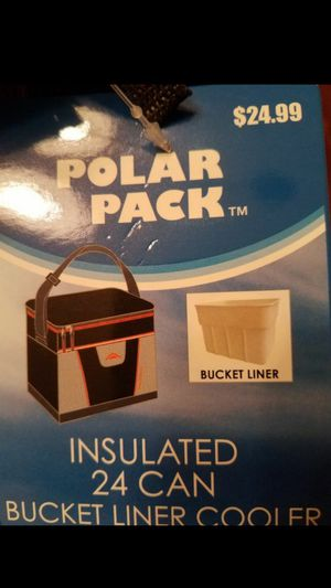 Polar Pack Cooler With Bucket Liner for Sale in Buena Park, CA
