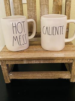 Rae Dunn Hot Mess And Caliente Mugs ☺️ for Sale in Chandler,  AZ