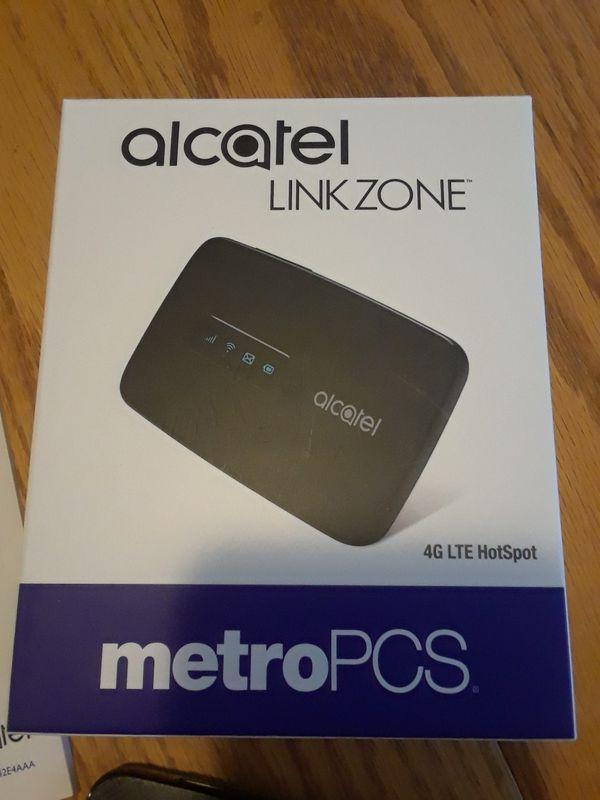 Alcatel LinkZone Mobile Hotspot for Metro PCS BRAND NEW UNLOCKED w/  original packaging for Sale in Portland, OR - OfferUp