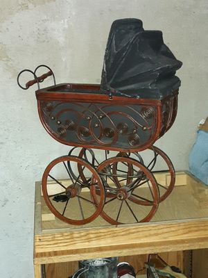 Adorable vintage looking replica baby buggy. for Sale in Denver, CO