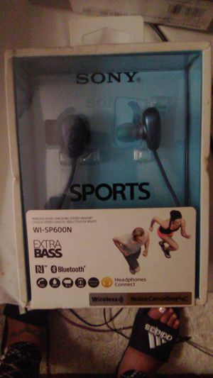 SONYSPORTS TRULY WIRELESS HEADSET(WI-600N) for Sale in Indianapolis, IN