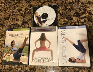 Workout DVDs Pilates lot of 4 Exercise Videos for Sale in Sachse, TX