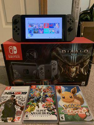 Nintendo Switch Diablo Edition for Sale in Seattle, WA