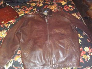 Leather Polo Jacket for Sale in Abilene, TX
