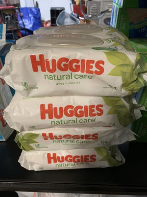 8 Packs of Huggies Natural Care Wipes 64 Count for Sale in Elk Grove, CA