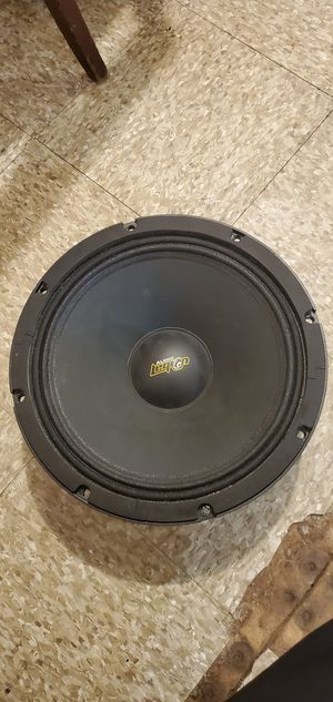 "2.Audio Legion MG12 12"" Midrange Loud Speaker 700W 8 ohm Pro Car Mid Range for Sale in Reading, PA"